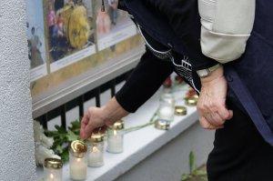 Акция памяти жертв грузинской агрессии