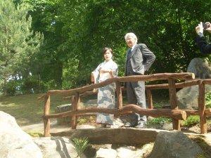 В Вильнюсе открыли японский сад