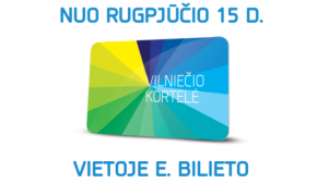 В столице Литвы введена карточка вильнюссца