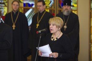 В Сейме Литвы представили выставку священника Павла Волынцевича