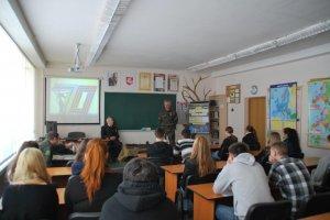 Урок памяти в школе Сантарос