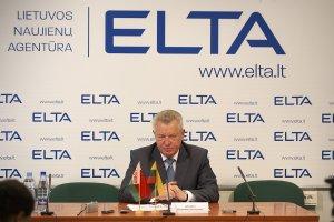 Посол Беларуси в Литве В. Дражин © Фото: В. Царалунга-Морар