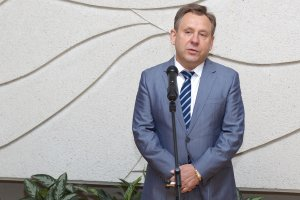 Александр Макаров, директор Дома Москвы в Вильнюсе. Фото: В. Царалунга-Морар