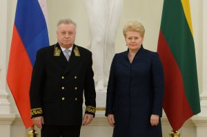 Президент Литовской Республики приняла верительные грамоты посла Российской Федерации