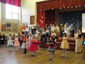 Рождественский праздник для  детей Клайпеды