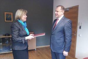 Посол Республики Беларусь в Литовской Республике Александр Король