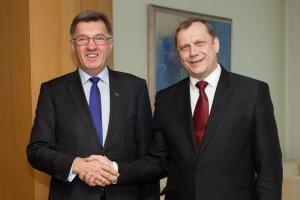 Встреча посла Беларуси А. Короля с премьер-министром Литвы А. Буткявичюсом