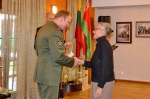 В Клайпеде вручили медали ветеранам «70 лет освобождения Беларуси»