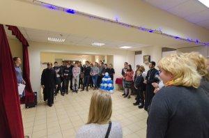 Открытие Молодежного клуба «Встреча»