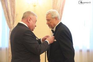 Виргилиусу Норейке вручили медаль Пушкина